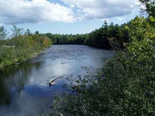 Saranac River off of NY 3